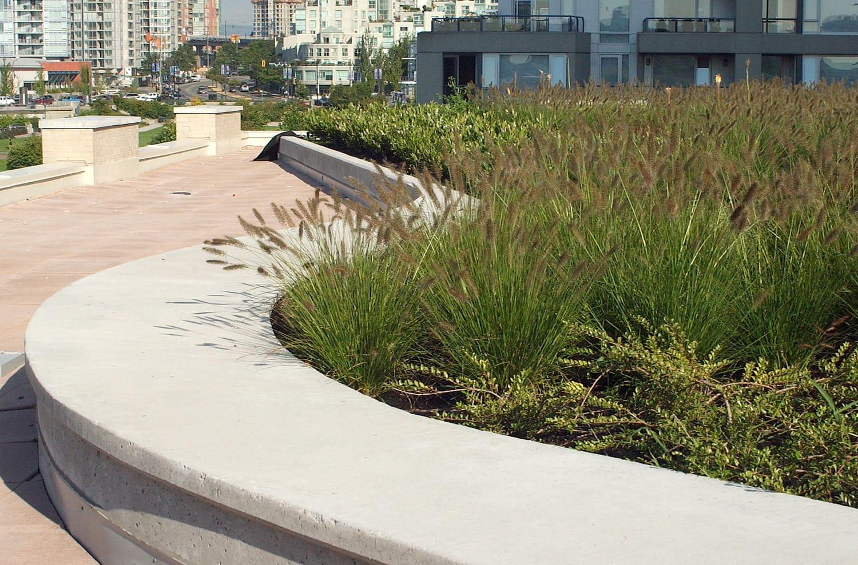 Architectural landscape concrete Vancouver